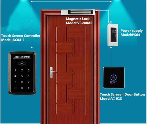 CE Outdoor Keypad Door Entry Systems / Access Security