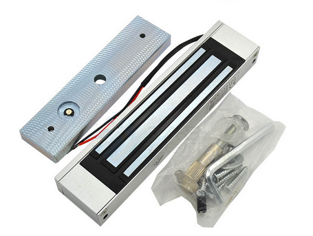 180kg Door Door Electromagnetic Lock , Safety Magnetic Lock With Full Holding Force