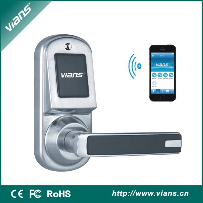 Five Ways Unlock: A. Smart Phone:Iphone/Android Apps   Simply Press One  Button On The Smartphone To Operate The Door. B.Bluetooth Smart Key   Use  The ...