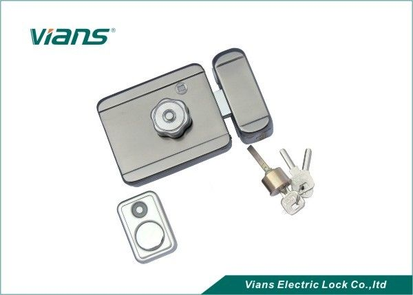 Low Noise Automotive Electronic Front Door Lock For Iron Gate