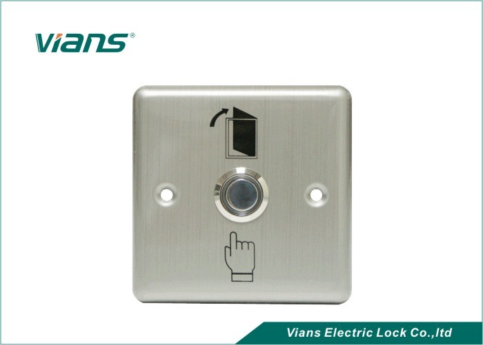High Strength Push Button To Exit Door Release For