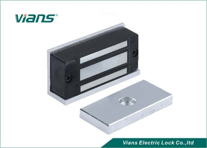 60KG 120lLBS Electric Magnetic Lock For Cabinets Drawer / Wooden Door , CE FCC Compliant
