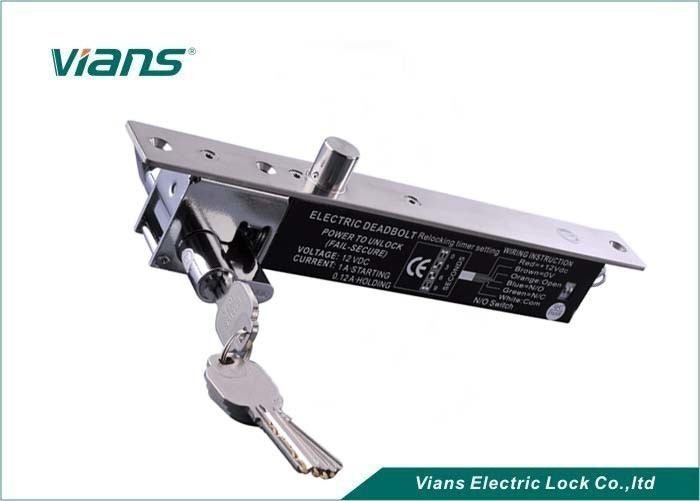 Electric Drop Bolt Lock For Important Place , Electric