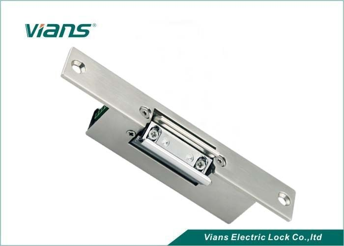 Glass Door Electric Strike Lock Fail Safe With Dry Contact 200ma Cur