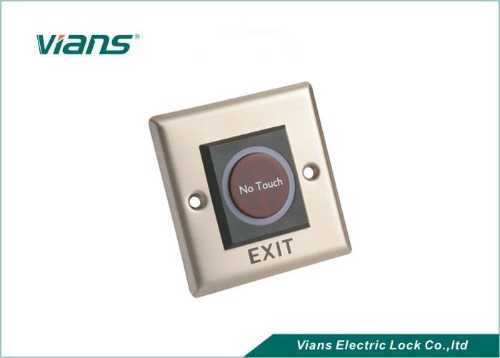 No Touch Infrared Door Exit Push Release Button Switch W//Remote Control for Access Control