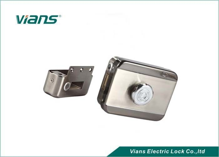 Quiet Closing Security Electronic Front Door Lock For Residential