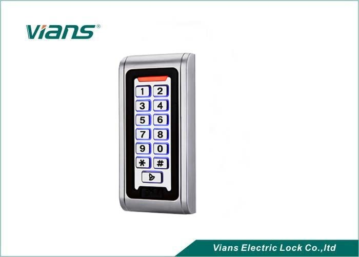 CE Single Door Metal proximity access control With MF Cards , 5 years warranty use