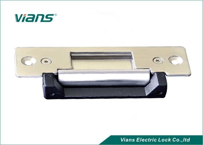 Stainless Steel Adjustable Electric Strike Lock For Doors , 500kg Holding Force