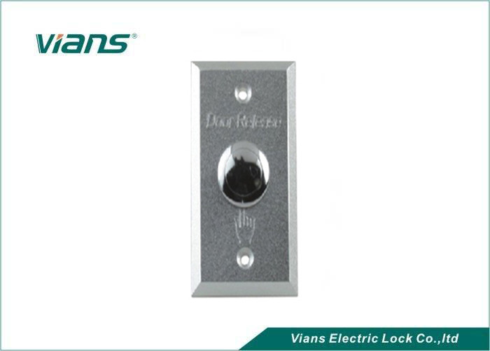 Aluminum Panel Exit Push Release Button Door Switch Part Of Access Control