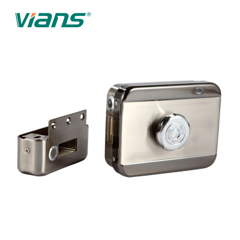 Residential Smart Electronic Door Locks 100mA 10 Watt For 90 Degree Swing Door