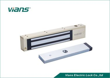 Glass Door Electric Magnetic Lock 600lbs With Timer Double Status Monitored