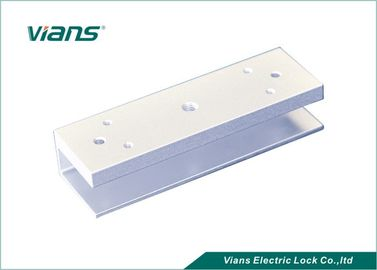 Access Control U Shaped Bracket , Door Installation U Bracket For Glass Door