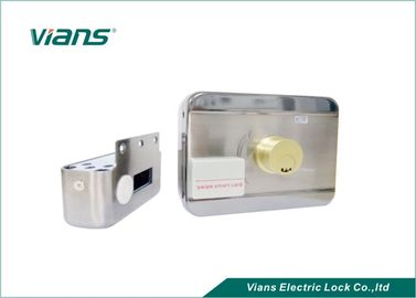 Standalone 12V Electric Mechanical Lock with Card Proximity For Wooden Door / Metal Door