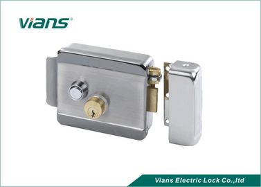 Security Electronic Rim Door Lock With Double Brass Cylinder For Home Door