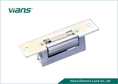 Adjustable Electric Door Strike Stainless Steel 12V With Narrow Frame 800kg