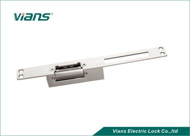 Long Panel Aluminum Electric Strike Lock For Swing Door CE ROHS