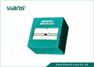China Weatherproof Fire Emergency Call Point  Green Manually Operated for Exit Door factory
