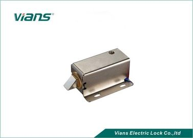China Small Electric Hidden Cabinet Lock for File Cabinet , Locked When Energized factory