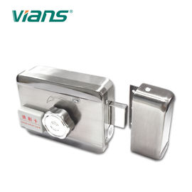 China All In One Mute Electric Motor Lock Intelligent Nickel Plating Finish With Metal Gear factory