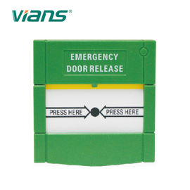 China CE Approved Weatherproof Manual Call Point Emergency Break Glass Door Release Button factory