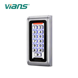 Metal RFID Door Access Control Keypad IP68 Waterproof DC 12V 125KHZ Frequency